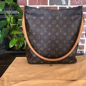Louis Vuitton Looping GM shoulder Tote Bag